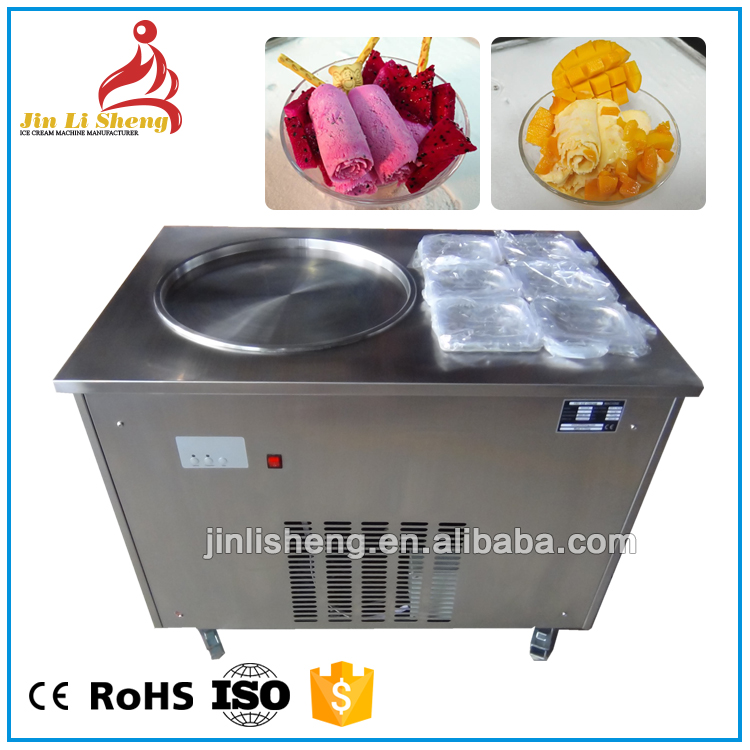 Maquina De Helado Frito Fried Ice-Cream Machine, Ice Cream Frying Machine Without Oil