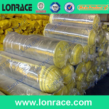 plastic film steel wire reinforced air ventilation pipe high quality heat and sound insulation glasswool