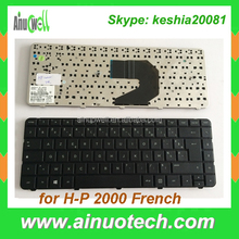 Hot selling Laptop Keyboard for HP 2000 G4-2000 G6-2000 French Laptop Keyboard Replacement US PL IT TR GR LA AR SP PO RU