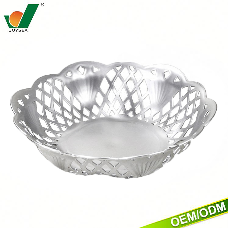 custom-tailor Hollow plastic plate lace plating fruit price