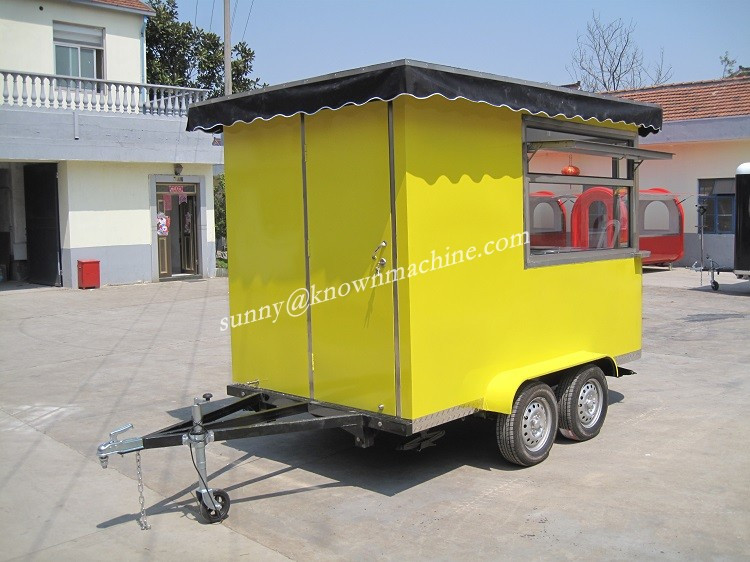 Food Truck Fast Food Van / Mobile food truck for Fried chicken,beer,snack m obile sale