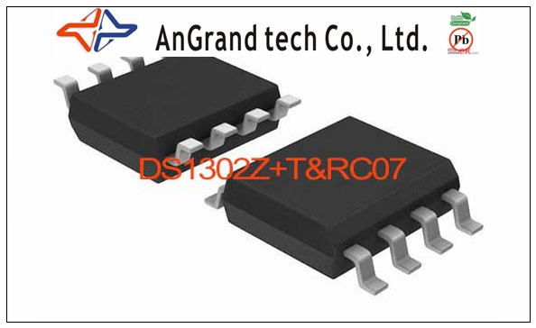 DS1302Z+T&R/C07 IC TIMEKEEPER W/CHARGER 8-SOIC DS1302Z 1302 DS1302 1302Z S1302