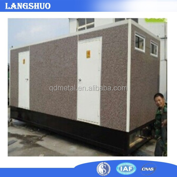 modified portable toilet container
