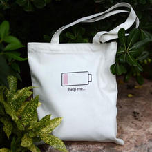 TaoBao Full Color Cotton Tote Bags Wholesale Messenger Canvas Bag