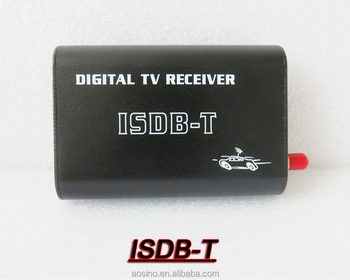 CAR ISDB-T 1 seg Digital TV receiver box