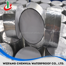 China waterproofing materials for concrete roof self adhesive aluminium flash band