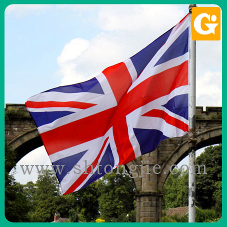 Hot sale high quality polyester union jack hand flags