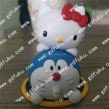 Jingle Cat and HelloKitty PVC action figure/Japanese mascot/injcetion mascot OEM factory