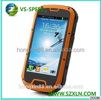 Vsspeed Cheap MTK6589W quad core dual sim waterproof shockproof andriod mobile phone