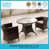 Steel Frame hot Sell Dinning Glass Table
