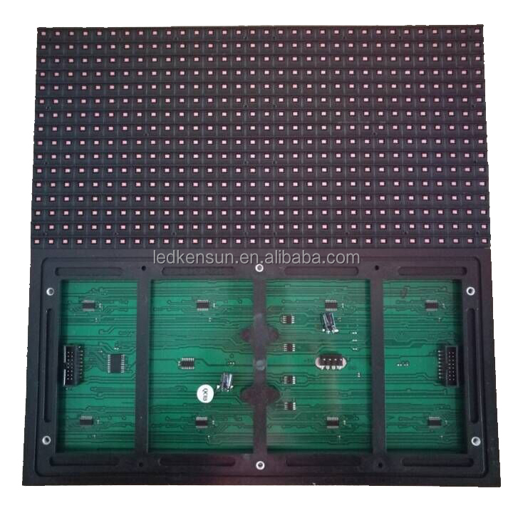 high brightness !!!outdoor smd led module Outdoor IP65 <strong>P10</strong> <strong>1r</strong> 32*16 Single Red Color LED Display Module