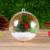 Wholesale Christmas Two Part Plastic Ball