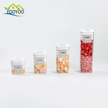 FOOYOO FY-0226 3 INSTALLED PLASTIC FOOD STORAGE CONTAINER/ COLOR BOX/STORAGE JAR SET WITH SEAL COVER