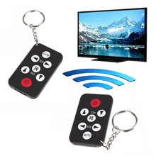 Mini Universal Infrared IR TV Remote Control Controller 7 Keys Button Keychain Key Ring Wireless Smart Remote Controller