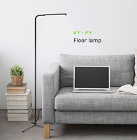 UY-F9 Home Decor Led Rechargeable Standing Floor Lamps