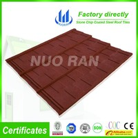 Colorful Sand Coated Steel Roofing Sheet Material/Asian Style Roof Tiles/House Decorative Material