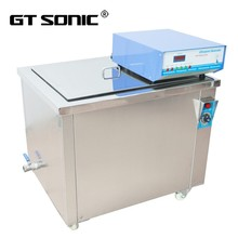 Ultrasonic diesel particulate filter cleaning machine and carburator cleaner