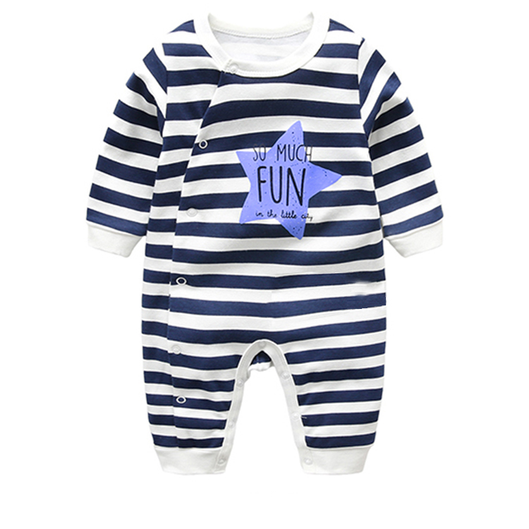 Wholesale Environmental Cute Animal Baby Clothes / Baby Rompers Low Price