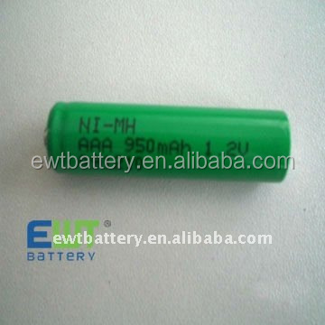 Ni-MH AAA 950mAh rechargeable battery 1.2V Ni MH batteries AAA 950