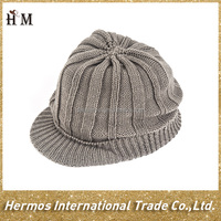 factory wholesale warm free knit pattern for hat earflaps