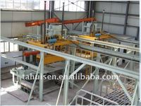 Automatic and advanced gypsum block machine
