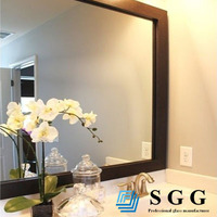 High quality bathroom toilet mirror for decoration