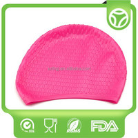 Alibaba china best-Selling silicone hats water-proof swim caps