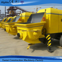 Diesel power type new condition high quality concrete pump