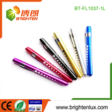 Manufacturer Wholesale Doctor and Nurse Used Diagnostic led Pocket penlight with tongue depressor