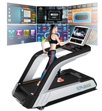 2017 Popular commercial motorized treadmill running machine price in india