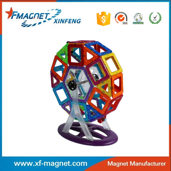 The most popular magnetic building toys