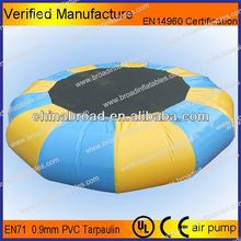 Durable 0.9mm PVC,inflatable water park,inflatable water trampoline float