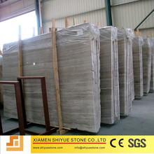 Grey White Wooden Onyx Marble Stone For Sale