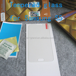 Premium 2.5D 9H Tempered glass screen protector for Samsung Galaxy S5 I9600
