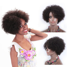 18 hair sexy short hair nude girl sculpture hot fashion show short human hair wig for black women