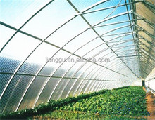 Soundproof translucent plastic corrugated roof panels / fiberglass corrugated sheet