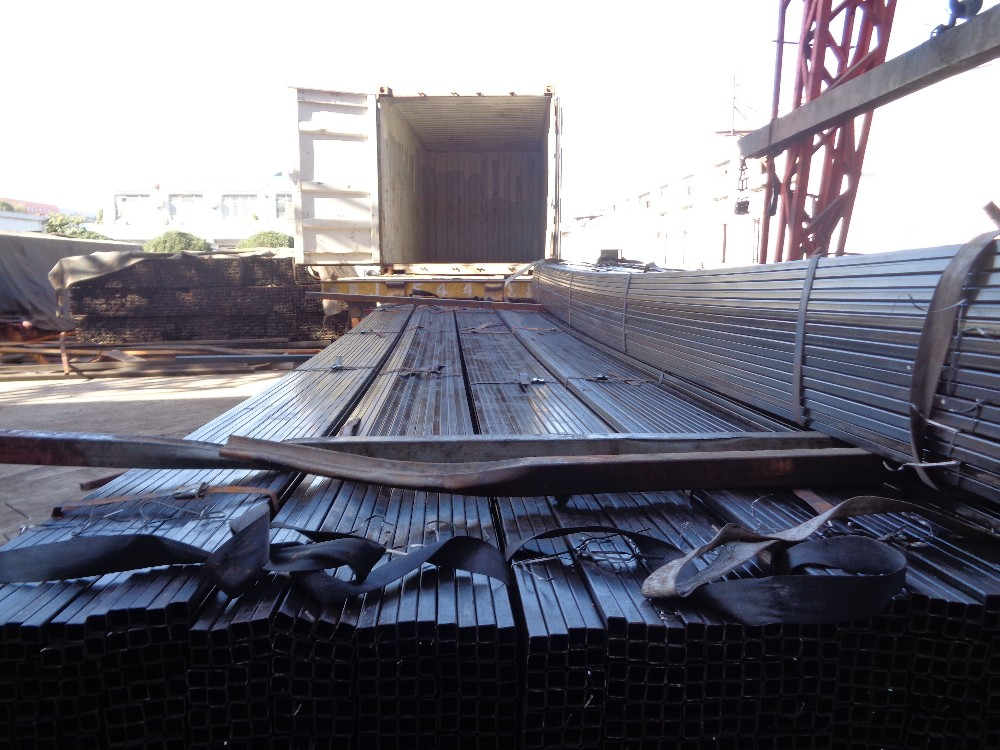 structure rhs hollow section steel pipe