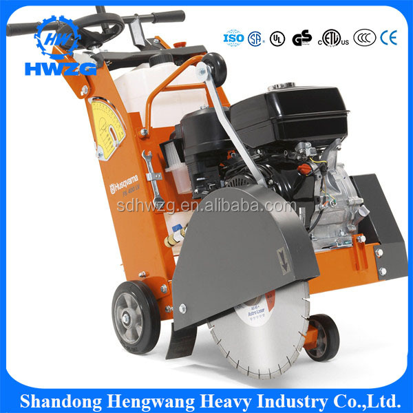 Top quality concrete road cutting machine, heavy duty cutter for road