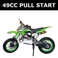 49CC pull start motorcycle ,2-stroke mini moto ,gas pocket bike
