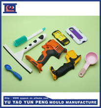precision plastic injection mould /tooling making for plastic double handle shoots shell