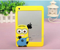 kids 3d cute despicable me silicone case for Samsung S3 S4 S5 NOTE 2 NOTE 3 NOTE 4 mobile phone silicone case