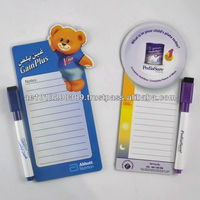 Beauticul full color printing magnetic writing board & mark pen