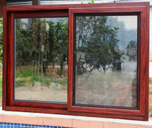 hot sale & high quality aluminium frame sliding glass window with great price