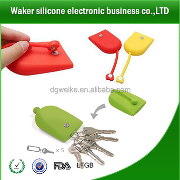 Silicone Pochi Key Case with Magnetic