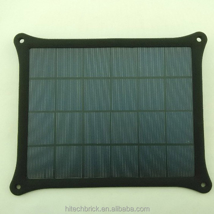 5W Universal Sun Power Panel Solar Charger Pad with Holder for Mobile phones chargers/ MP3 / Digital Camera chargers/ GPS