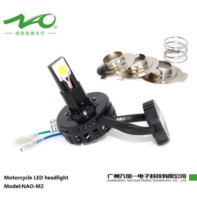 Nao factory 2sides high power 20W bright 2100LM led headlight motorcycle