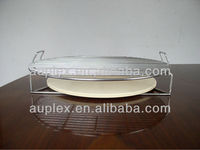 304 Stainless Steel Elevator Match Ceramic Kamado Pizza Plate