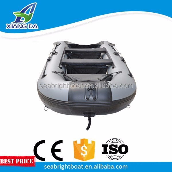 3.2M 10ft fishing PVC inflatable boat float fishing boat