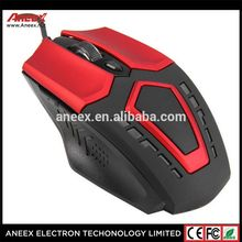 High quality 6 button USB 6d gaming mouse with adjustable DPI Switch Function