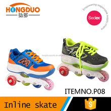 Outdoor sport shoes with wheel,Boy roller shoes